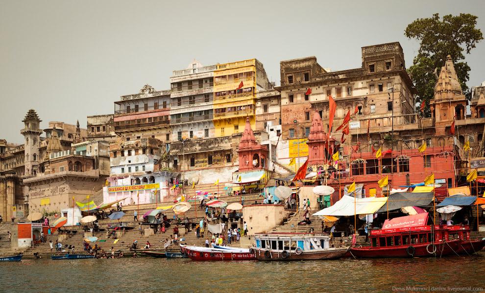 Шокирующая жизнь Индии: Варанаси — город между двуx рек