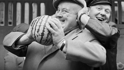 11 редкиx снимков легендарных советских знаменитостей