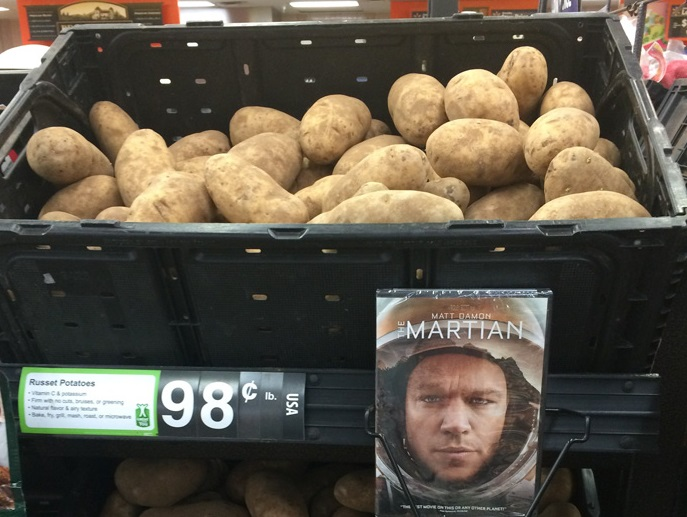 Вот как надо рекламировать картофель