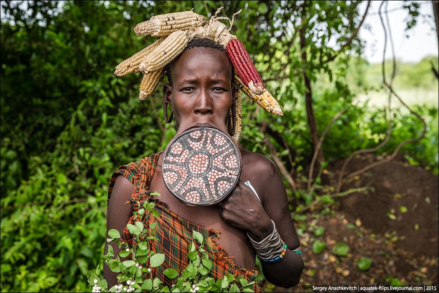 Эталон женской красоты и антисексуальности из Эфиопии