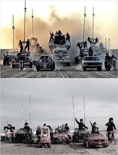 «Безумный Макс: Дорога ярости» — постапокалиптический боевик австралийского режиссёра Джорджа Миллера, четвёртый фильм о Максе Рокатански.