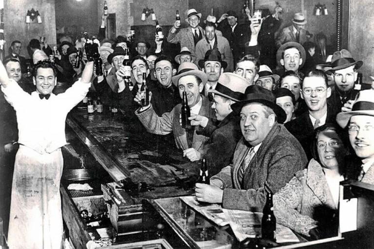 Ночь, когда в Америке отменили сухой закон, 5 декабря 1933.