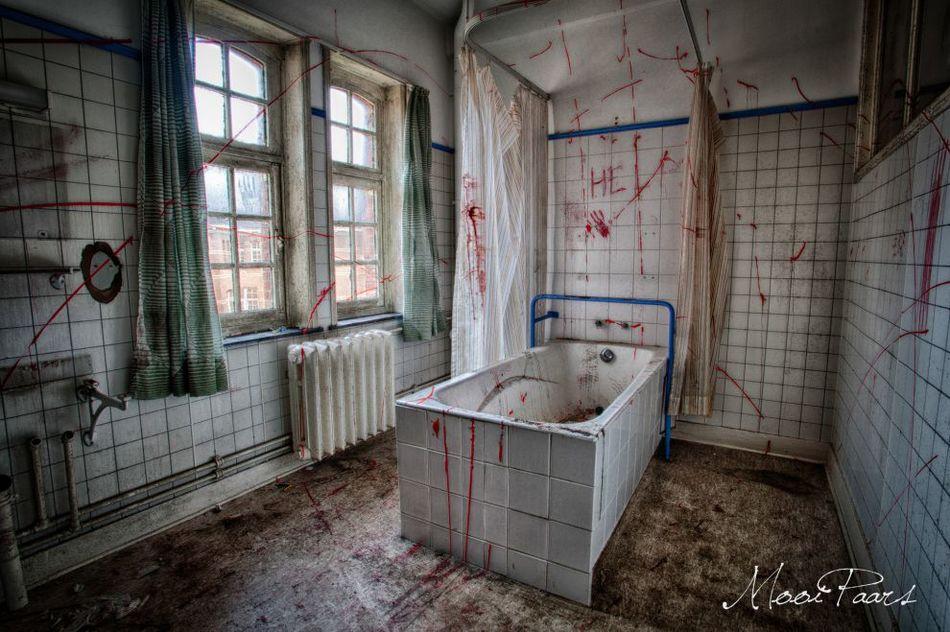 Заброшенная психиатрическая больница в Бельгии 6