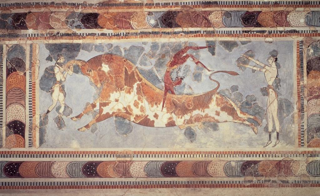 minoan civilization Over time, the minoans created a civilization it went through a series of ups and downs most of the downs were caused by disasters in the environment.