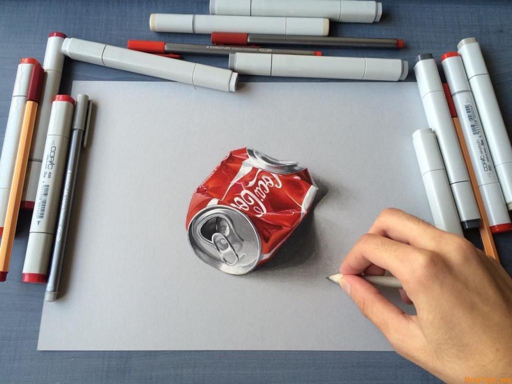 Гиперреалистичные рисунки от 19-летнего парня из Индии