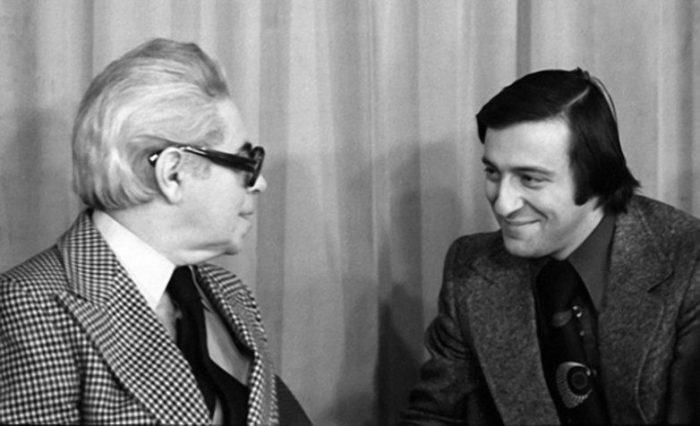 Аркадий Райкин и Геннадий Хазанов