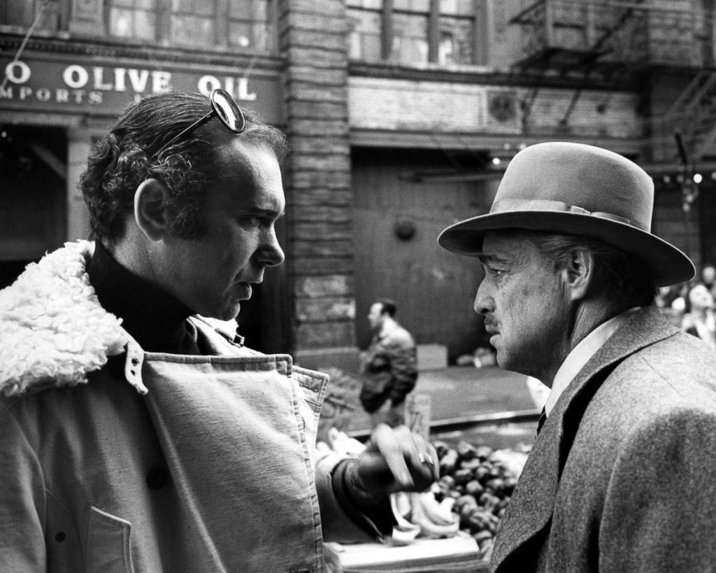 Шпионские фотографии со съёмок легендарной гангстерской драмы «Крёстный отец»