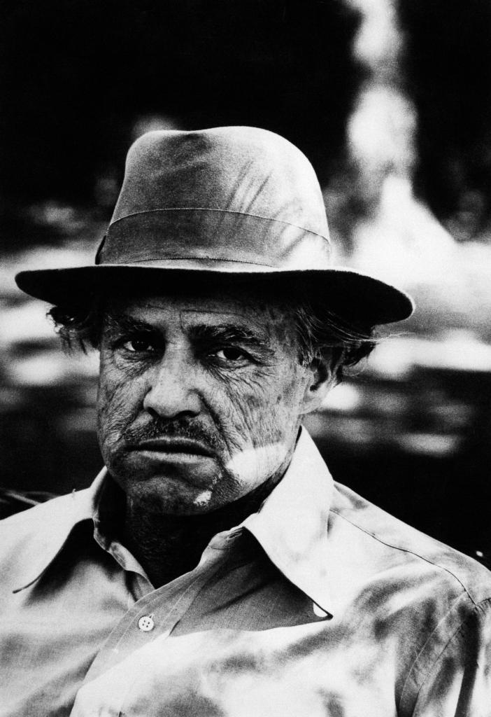 Marlon Brando in the movie The Godfather