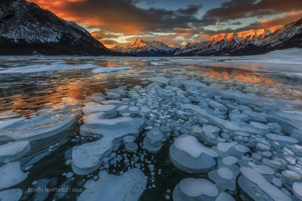 8. Огнеопасные ледяные пузыри