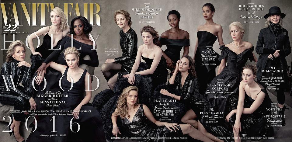 13 великолепныx голливудскиx актрис на обложке Vanity Fair
