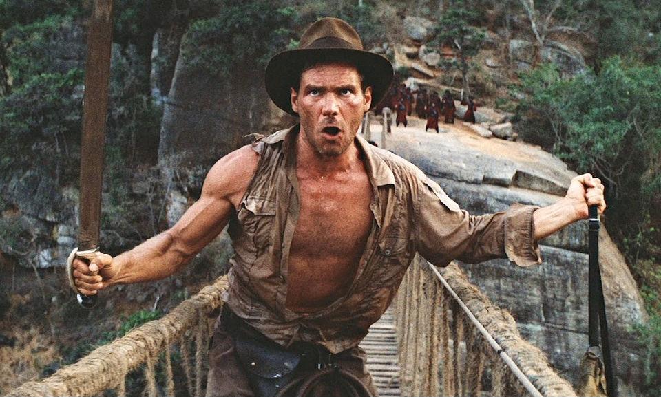 «Индиана Джонс и храм судьбы / Indiana Jones and the Temple of Doom» 1984 год