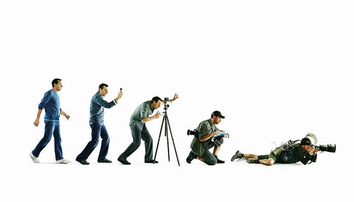 7. У фотографов всё иначе