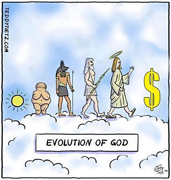 10. Эволюция Бога