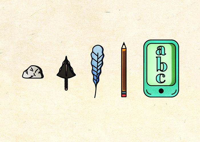 8. Как развивалась письменность. Liz Meyer