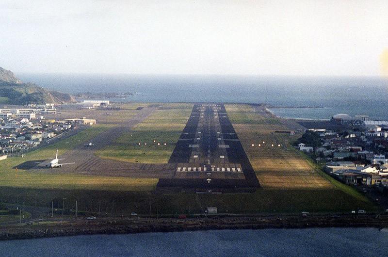 1. Международный аэропорт Веллингтон, Новая Зеландия.