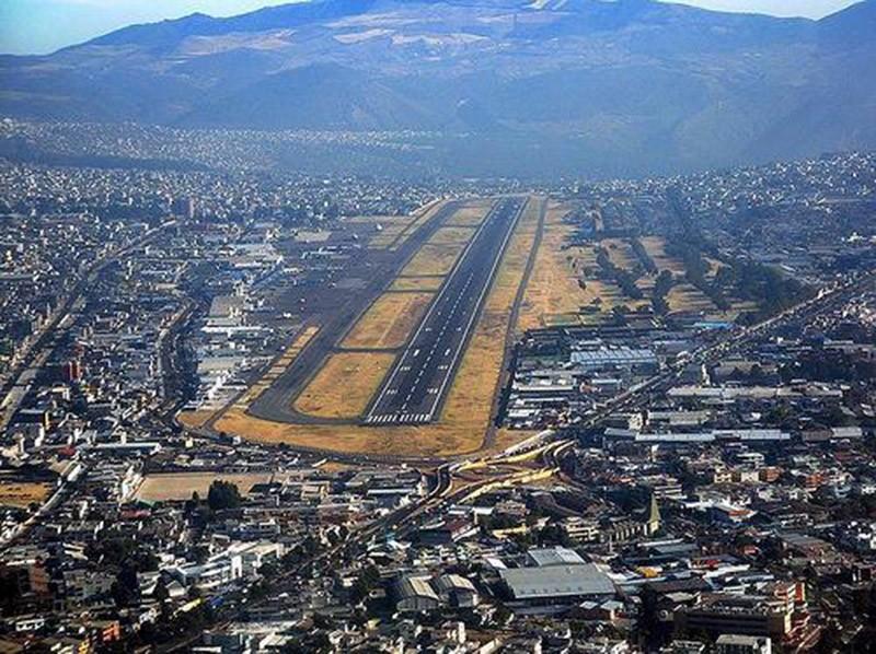 13. Международный аэропорт Олд Марискал Сукре, Эквадор.