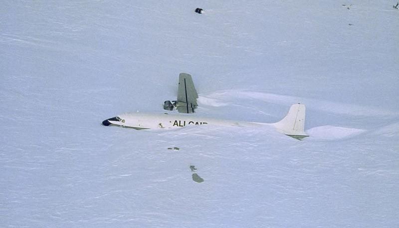 11. Ледяной аэропорт, Антарктида.