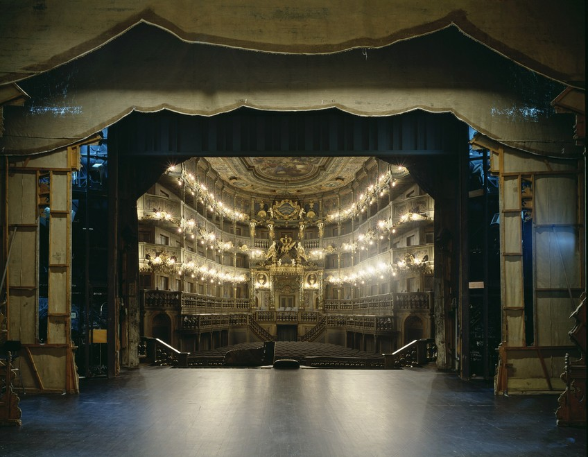 Как выглядят театральные залы с другой стороны