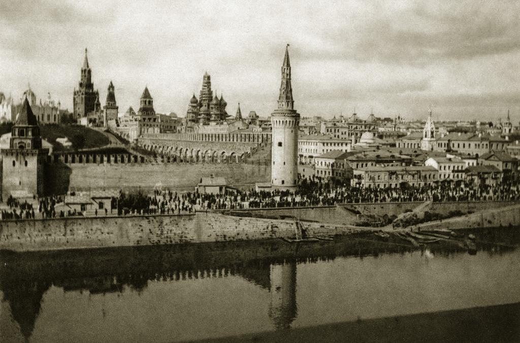 Ретро фотографии Москвы 1920-х годов