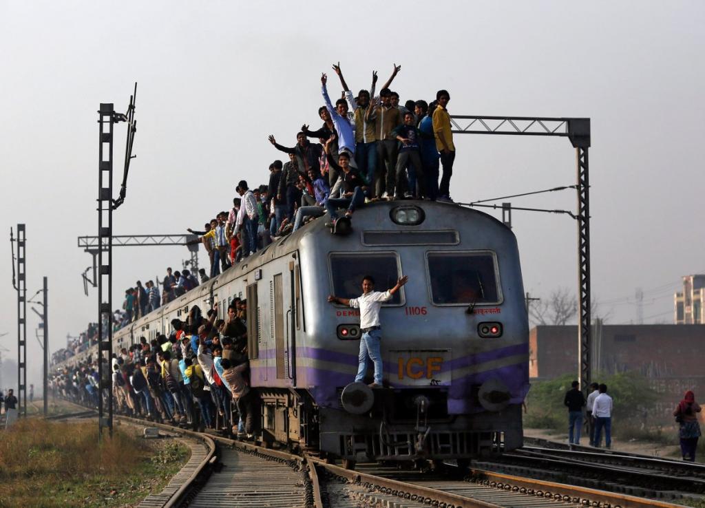фото индийских поезд видео