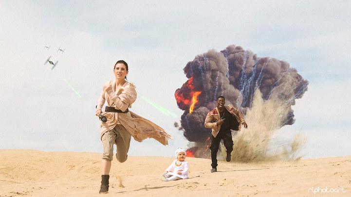 """Пара создала креативную фотосессию в стиле """"Звездных войн"""""""