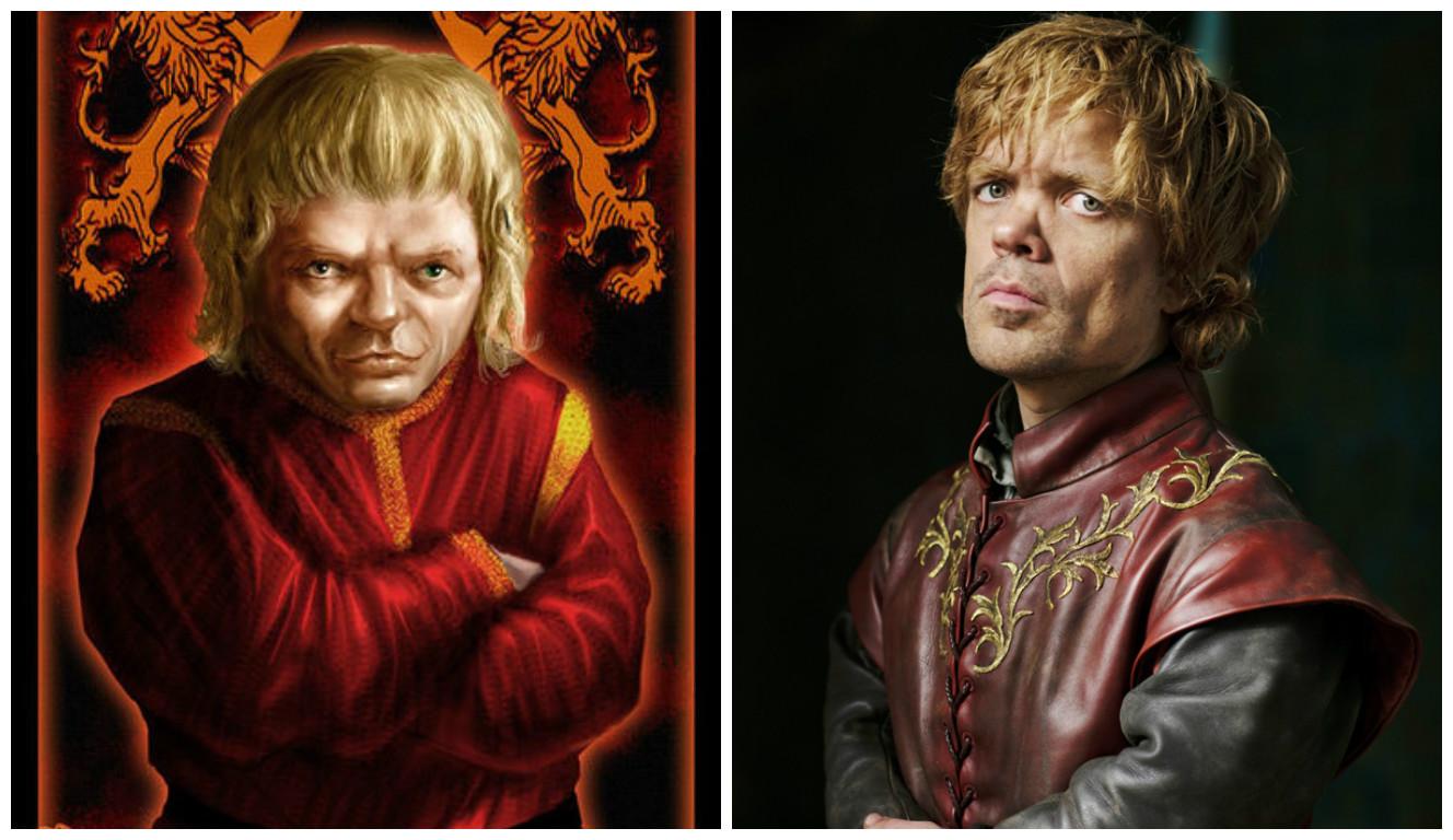 """Как персонажи """"Игры престолов"""" выглядят в книгах и на экране"""