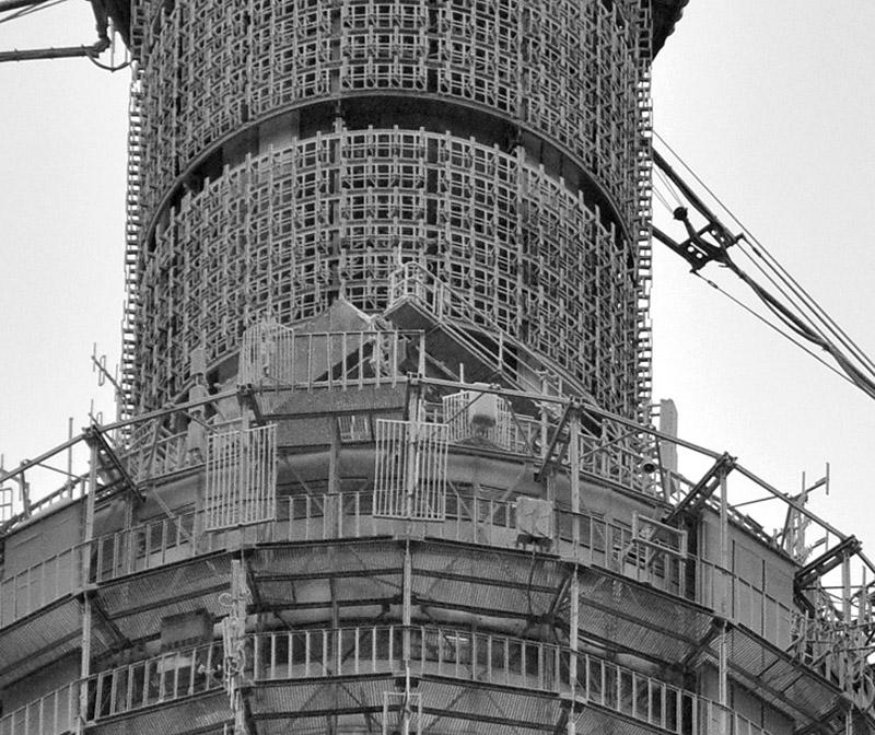 Как строили Останкинскую башню