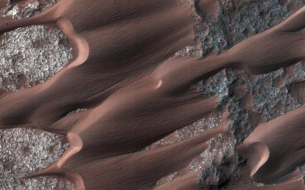 Nili Patera, one of the most active dune fields on the planet Mars