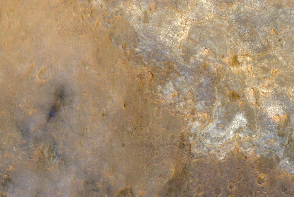 NASA's Mars Reconnaissance Orbiter photo