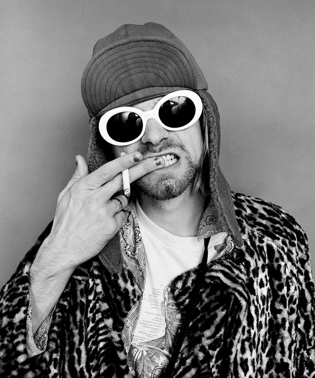Портреты Курта Кобейна из последней фотосессии