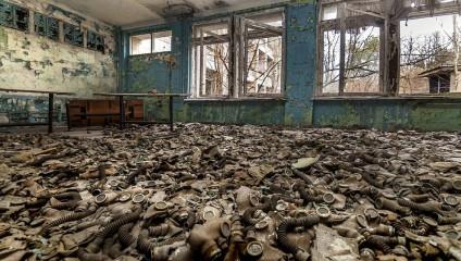 Редкие фотографии Чернобыльской АЭС