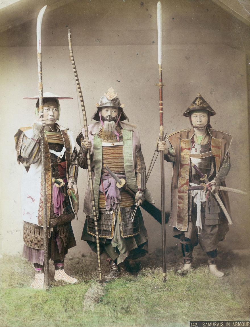 Последние самураи: уникальные фотографии 19-го века