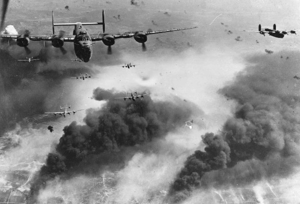 1-B-24Ds_fly_over-610x415