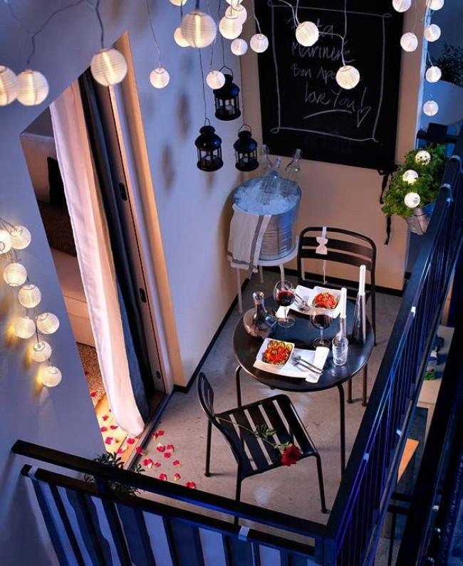 Как превратить маленький балкон в уголок для отдыха