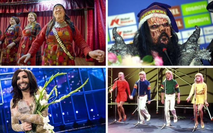 7 самых нетривиальных выступлений в истории «Евровидения»