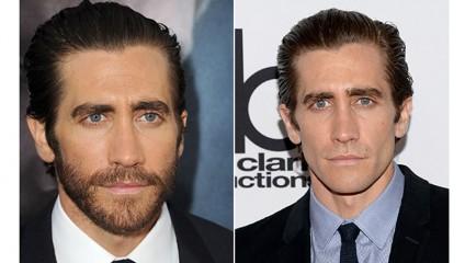 10 актеров, с бородой и без нее
