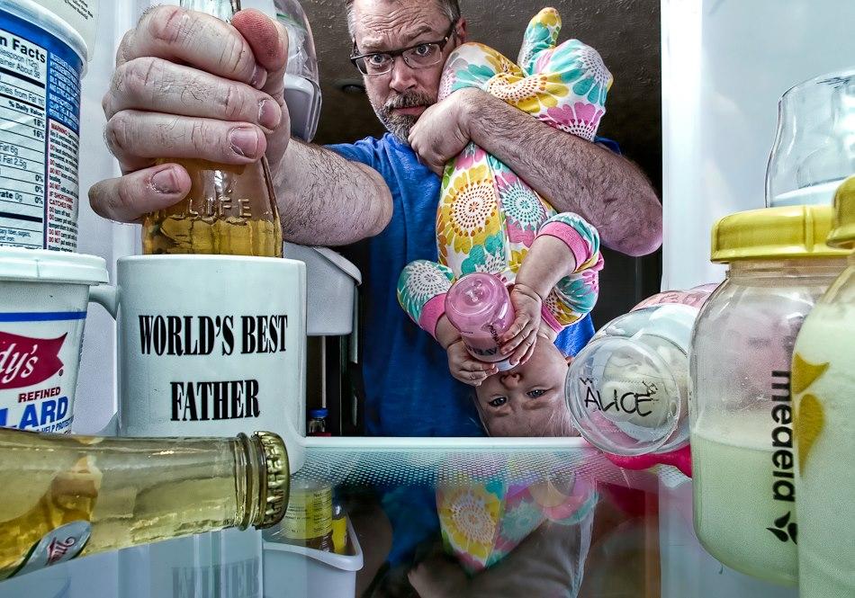 Лучший папа в мире. Креативный фотопроект Дэйва Энглдау