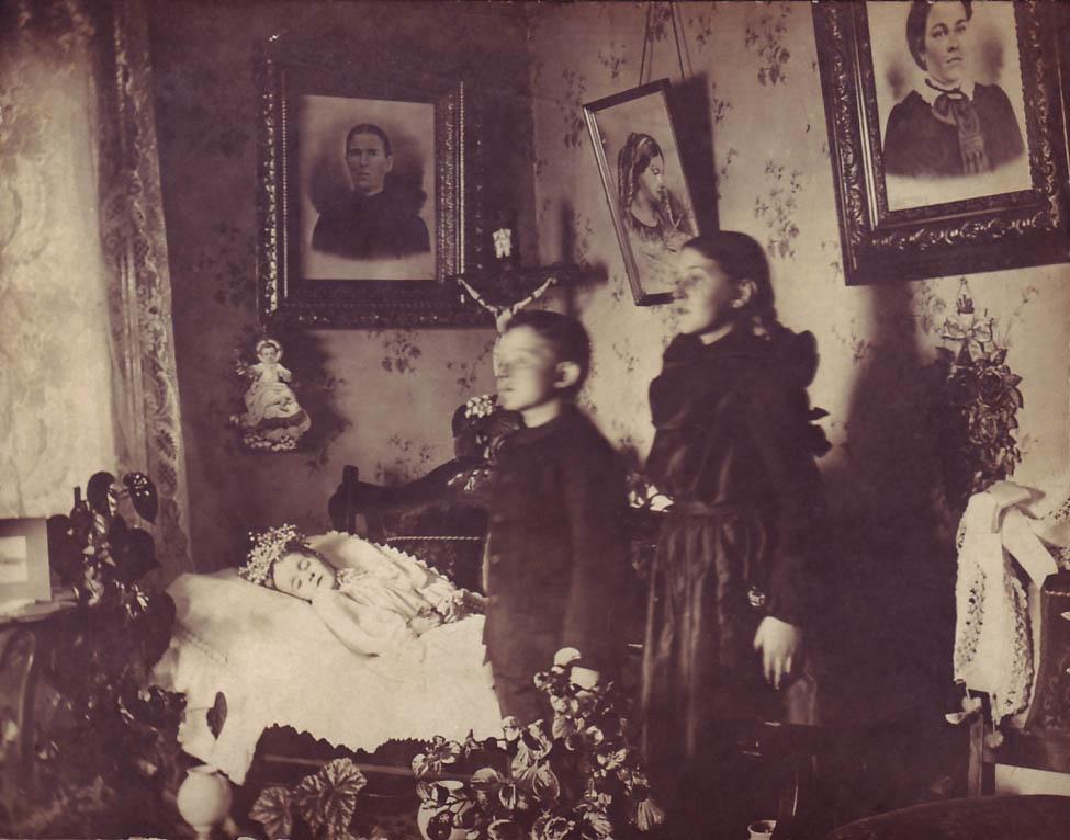 Традиция, объединявшая живых и мёртвых в Викторианскую эпоху
