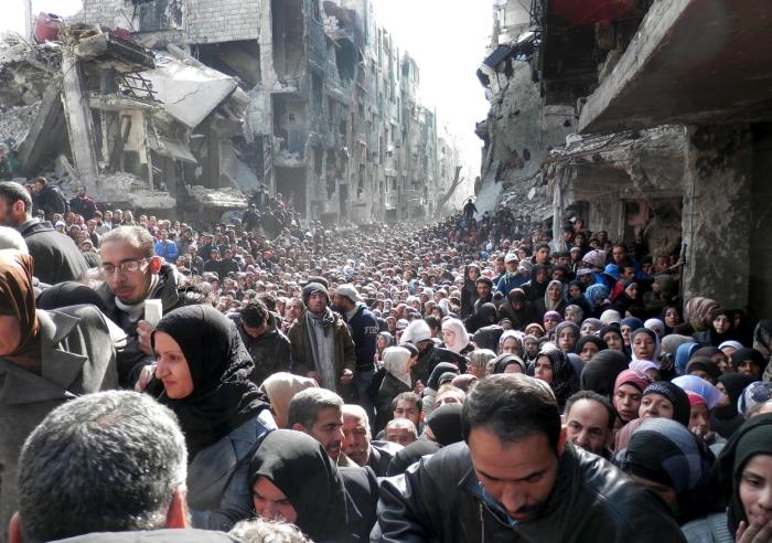 15 щемящих фотографий из охваченной войной Сирии