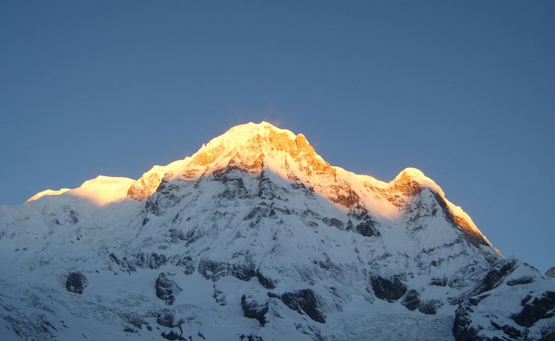 Самые опасные горы мира