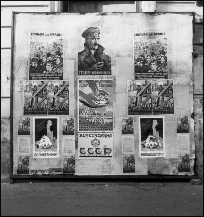 UKRAINE. 1943. Kiev. Propaganda. S-UK-KIE-001
