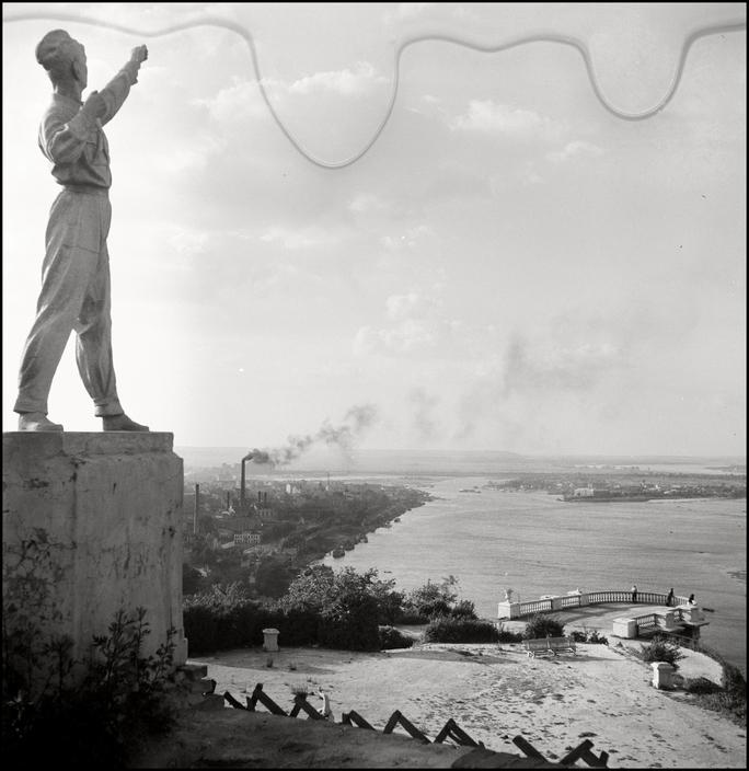 UKRAINE. Kiev. 1943. Vista of the Dineper River.  L-UK-KIE-003