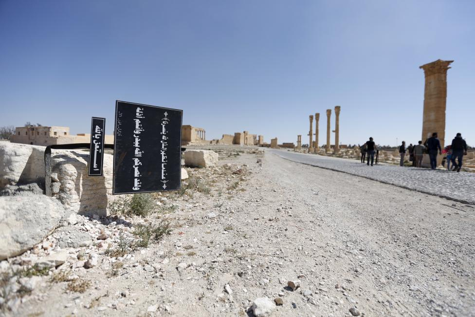 The Wider Image: Islamic State driven out of Syria's ancient Palmyra
