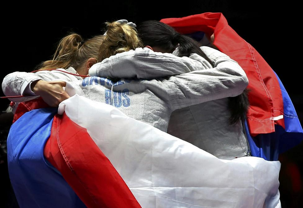 Fencing - Women's Sabre Team Gold Medal Match