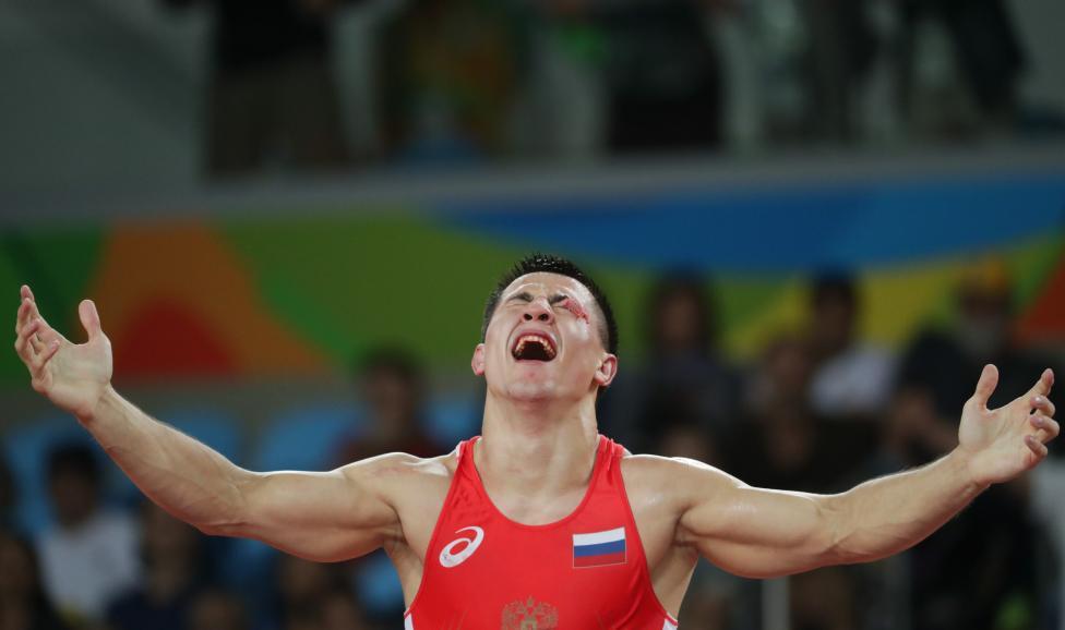 Wrestling - Men's Greco-Roman 75 kg Gold Medal