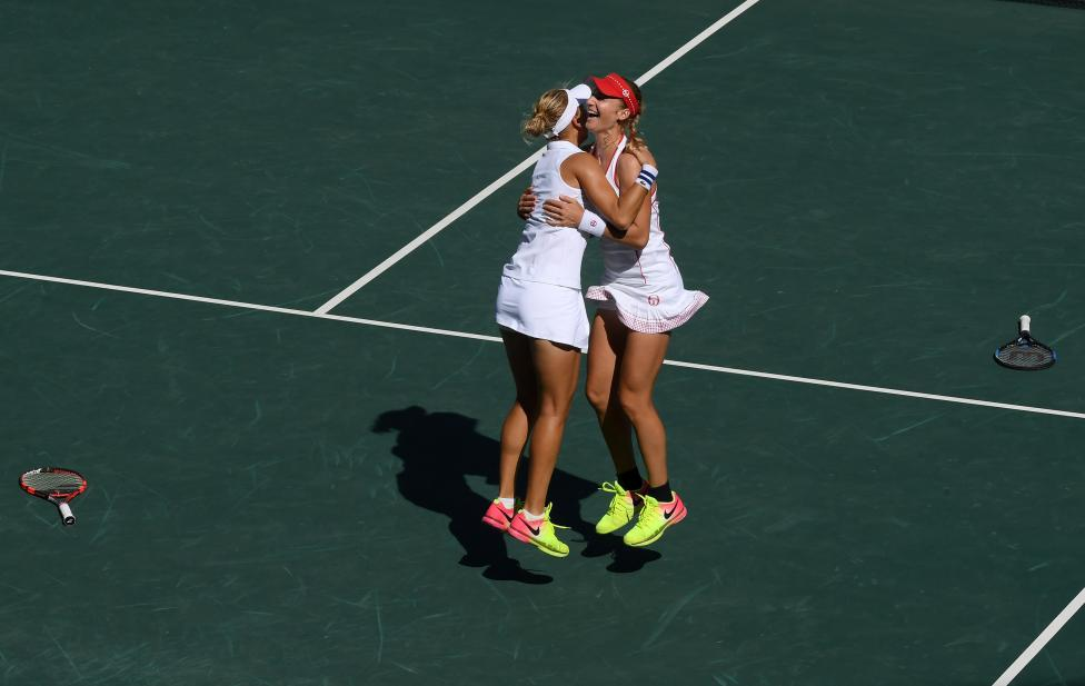Tennis - Women's Doubles Gold Medal Match