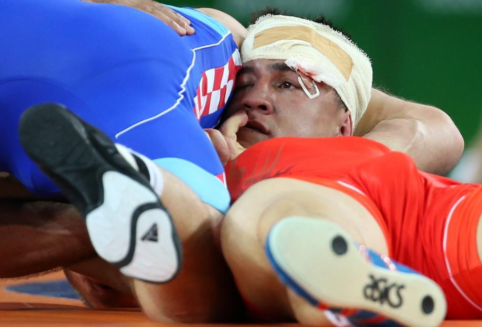 Wrestling - Men's Greco-Roman 75 kg Semifinal