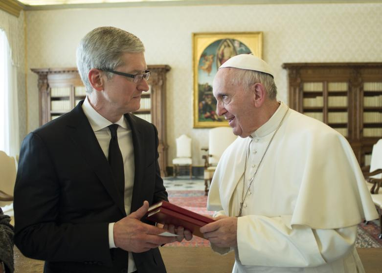 Pope Francis Meets Timothy Donald Cook - Vatican