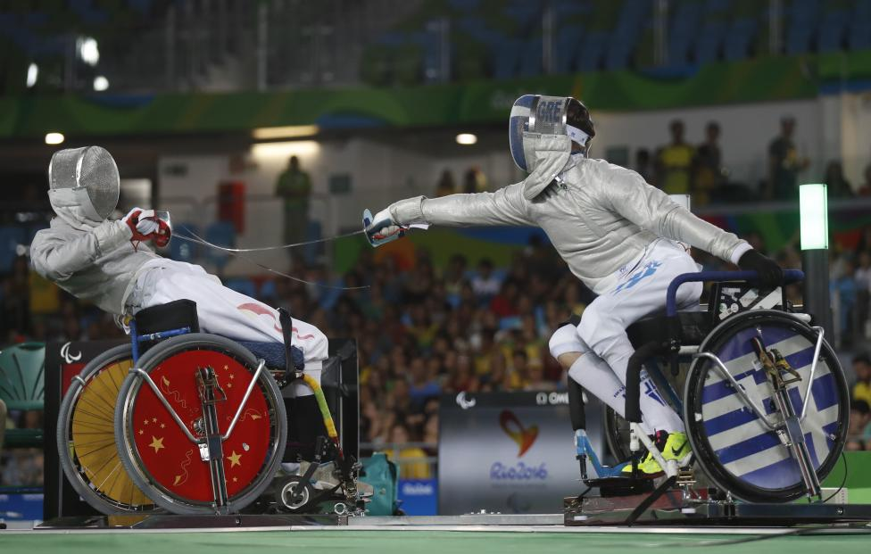 Wheelchair Fencing - Final - Men's Individual Sabre Category A Bronze Medal Final