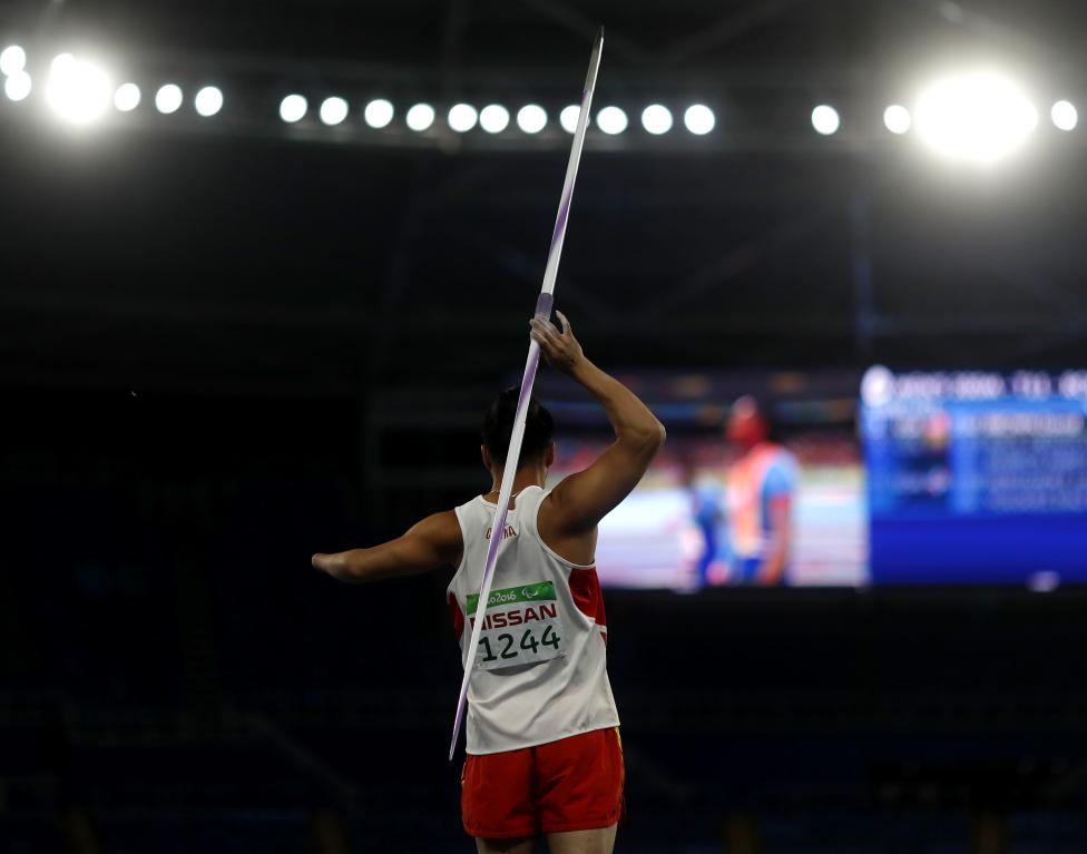 Athletics - Men's Javelin Throw - F46 Final